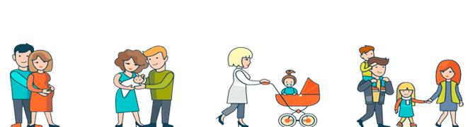 Детские пособия и материнский капитал