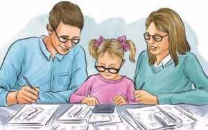 Как рассчитать вычет по НДФЛ на обучение ребенка